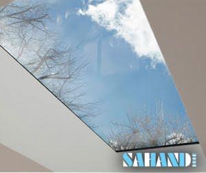 سقف از جنس شیشه