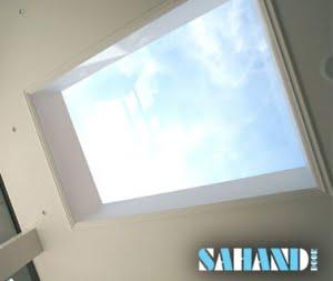 سقف شیشه ای در خانه