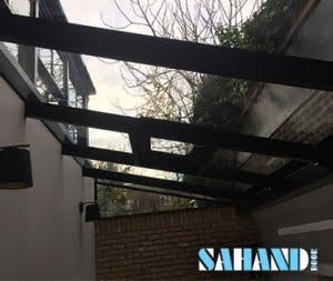 نصب سقف شیشه ای