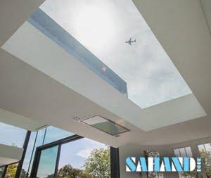 شیشه برای سقف